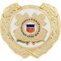"USCG LOGO WREATH PIN (1-1/8"")"