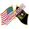 "PIN-ARMY, FLAG, USA/ARMY (1-1/4"")"