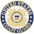 """PIN-USCG LOGO D (REG) (1"""")"""