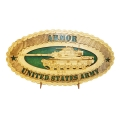 ARMY ARMOR M60 PLAQUE