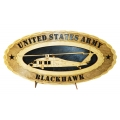 ARMY BLACKHAWK PLAQUE
