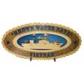 BROWN WATER NAVY VIETNAM PLAQUE