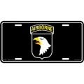 LICENSE PLATE - ARMY , 101ST AIRBORNE