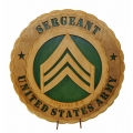 ARMY E-5 SERGEANT PLAQUE