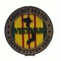 PROUDLY SERVED ARMY  VIETNAM VETERAN PLAQUE
