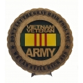 VIETNAM ARMY VETERAN PLAQUE- DONT LET THE GRAY HAIR FOOL YOU, WE CAN STILL KICK ASS