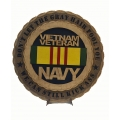 NAVY VETERAN PLAQUE- DONT LET THE GRAY HAIR FOOL YOU, WE CAN STILL KICK ASS