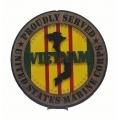 PROUDLY SERVED MARINE CORPS VIETNAM VETERAN PLAQUE