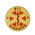 911 DISPATCH DESK PLAQUE 5 1/2""