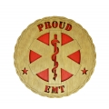PROUD EMT DESK PLAQUE 5 1/2""
