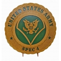 SPEC 4 ARMY PLAQUE