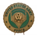 SPEC 6 ARMY PLAQUE