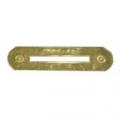 RIBBON MOUNT / RIBBON HOLDER (1) BRASS