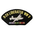 B-24 LIBERATOR WWII HAT PATCH - WITH THE OPTION TO HAVE IT ADDED TO A HAT