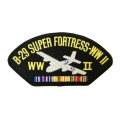 B-29 SUPER FORTRESS WWII HAT PATCH- WITH THE OPTION TO HAVE IT ADDED TO A HAT