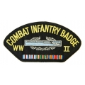 COMBAT INFANTRY WWII HAT PATCH- WITH THE OPTION TO HAVE IT ADDED TO A HAT