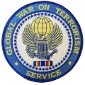GLOBAL WAR ON TERRORISIM SERVICE PATCH. 4""