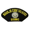 NAVAJO CODE TALKER USMC HAT PATCH- WITH THE OPTION TO HAVE IT ADDED TO A HAT