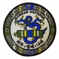 PROUDLY SERVED , KOREAN DEFENSE PATCH. 4""