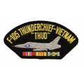 F-105 VIETNAM VETERAN HAT PATCH - WITH THE OPTION TO HAVE IT ADDED TO A HAT