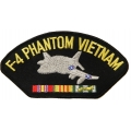 F-4 PHANTOM VIETNAM HAT PATCH - WITH THE OPTION TO HAVE IT ADDED TO A HAT
