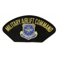 MILITARY AIRLIFT COMMAND HAT PATCH- WITH THE OPTION TO HAVE IT ADDED TO A HAT