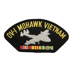 OV-1 MOHAWK VIETNAM HAT PATCH - WITH THE OPTION TO HAVE IT ADDED TO A HAT