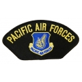 PACIFIC AIR FORCES HAT PATCH - WITH THE OPTION TO HAVE IT ADDED TO A HAT
