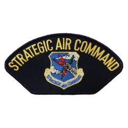 STRATEGIC AIR COMMAND HAT PATCH- WITH THE OPTION TO HAVE IT ADDED TO A HAT