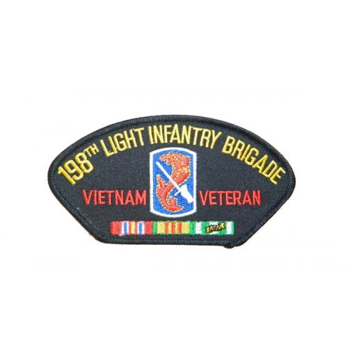 198TH LIGHT INFANTRY BRIGADE VIETNAM VETERAN HAT PATCH