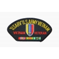 USARV VIETNAM VETERAN HAT PATCH - WITH OPTION TO ADD TO A HAT