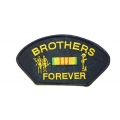 BROTHERS FOREVER VIETNAM HAT PATCH , WITH OPTION TO ADD TO A HAT