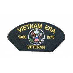 VIETNAM ERA HAT PATCH- WITH OPTION TO ADD TO A HAT