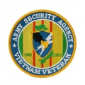 ARMY SECURITY AGENCY VIETNAM VETERAN PATCH. 4""