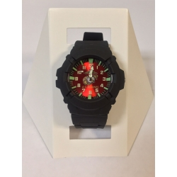MARINE /  RED BACKGROUND WATCH