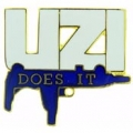 "RIFLE - UZI DOES IT- (1"")"