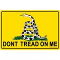 "SIGN-DONT TREAD ON ME (SMALL) (8""X12"")"
