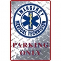 "SIGN-EMERGENCY MED. SVC. (XLG) (12""X18"")"