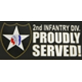 2ND INFANTRY DIVISION BUMPER STICKER