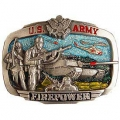 "BUCKLE-ARMY, US FIRE POWER (3-1/2"")"