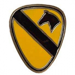 "BUCKLE-ARMY, 001ST CAVALRY (2-3/8"")"