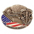 "BUCKLE-ARMY, SPEC. FORCES (2-1/2"")"