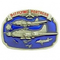 "BUCKLE-B17, FLYING FORT. (3-1/4"")"