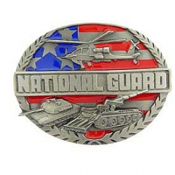 "BUCKLE-ARMY, NAT. GUARD (3-1/2"")"