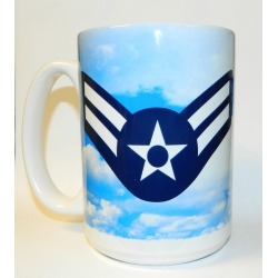AIR FORCE  E-3 MUG