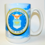 AIR FORCE  E-4 MUG