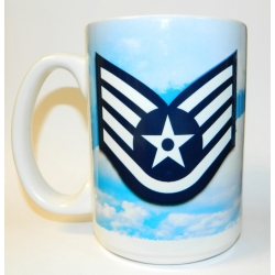 AIR FORCE  E-5 MUG