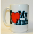 I HEART MY AIRMAN MUG