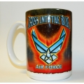 AIR FORCE  CROSS INTO THE BLUE  MUG