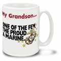 MY GRANDSON -  FEW PROUD MARINES MUG